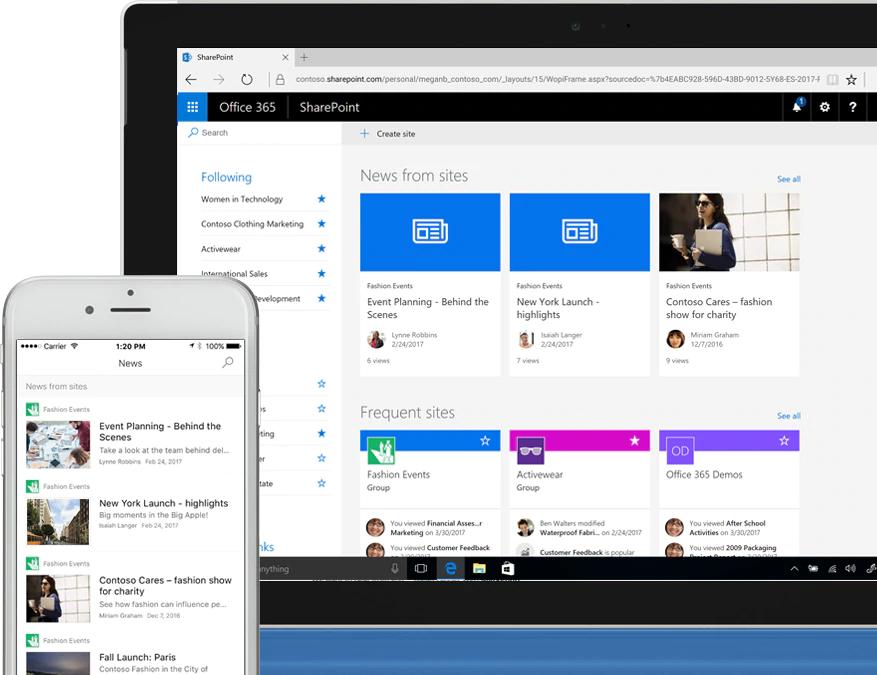 Wiscointl_ Microsoft Sharepoint Intranet_ Secure Internal Communication Software Tool